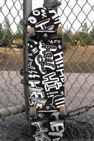 Скейт Приятно ми е да се запознаем (стикер)