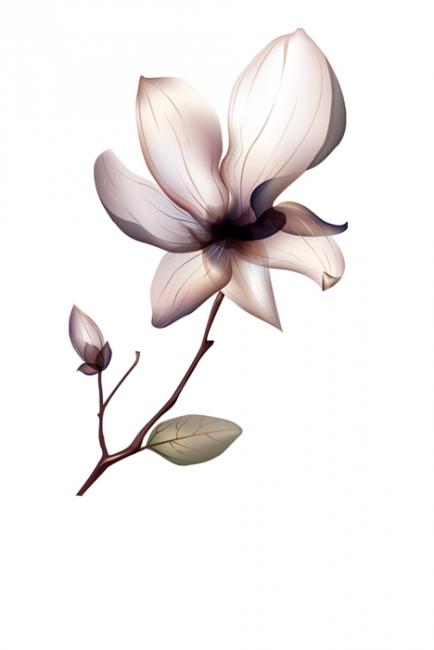 Изящно цвете