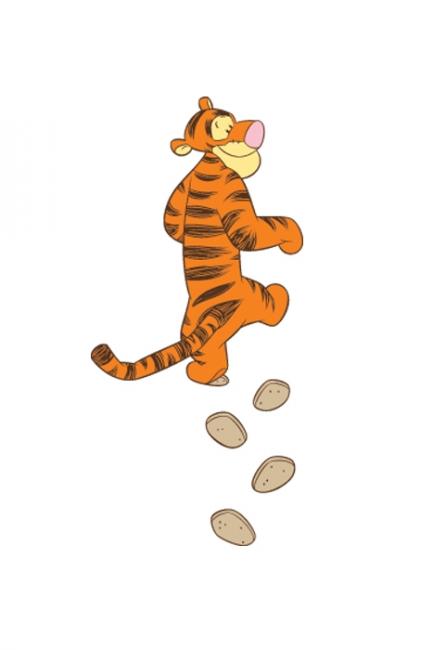 Тигър в крачка