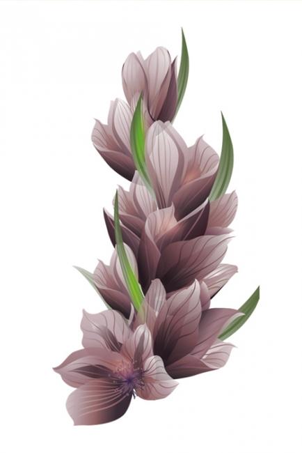 Абстрактно цвете