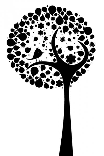 Абстрактно дърво